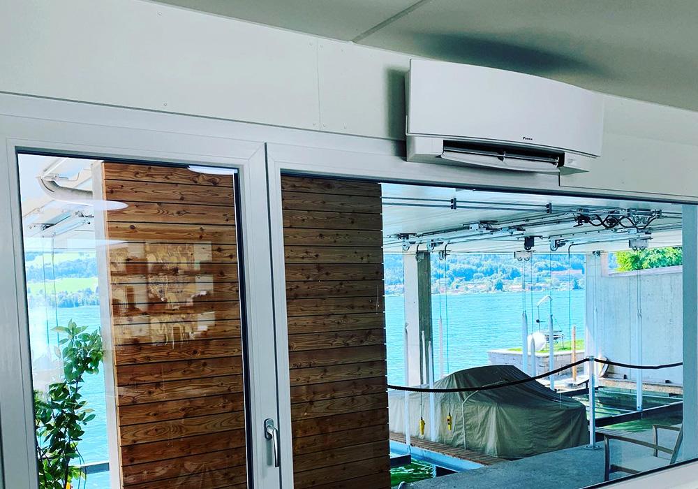 Klimaanlage Arbeitszimmer